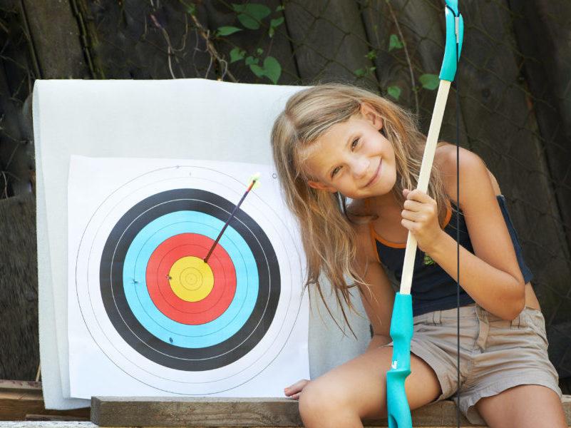 Tit a l arc pour groupe de jeunes en pension complète aux Blacouas