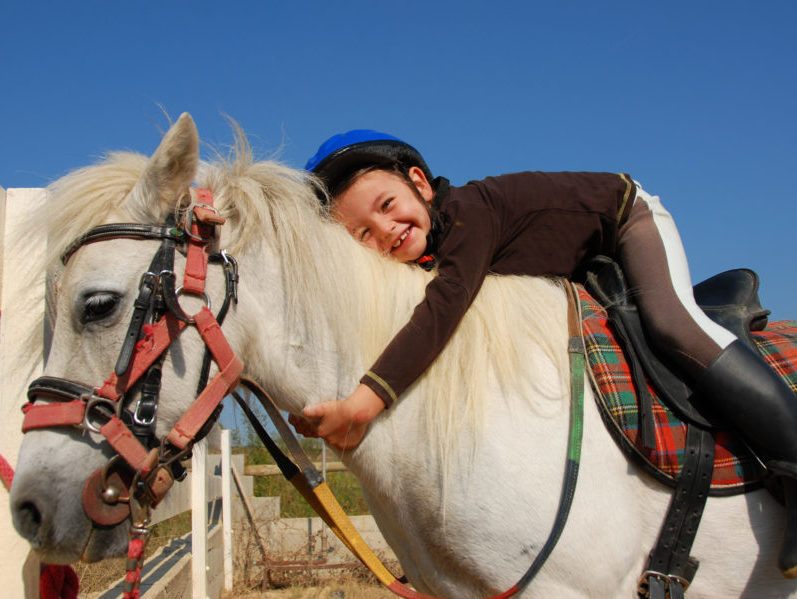 Equitation pour les classes de découvertes des Blacouas