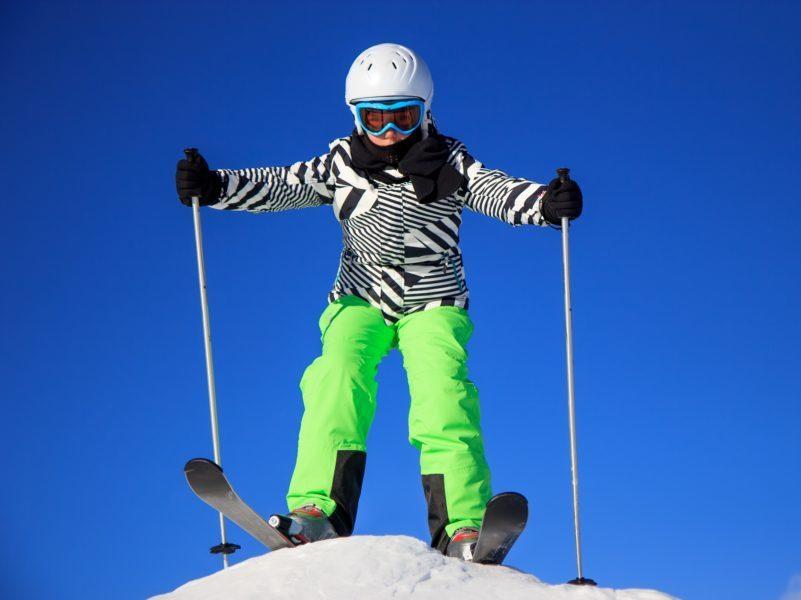 Ski alpin pour les colonies de vacances des Blacouas