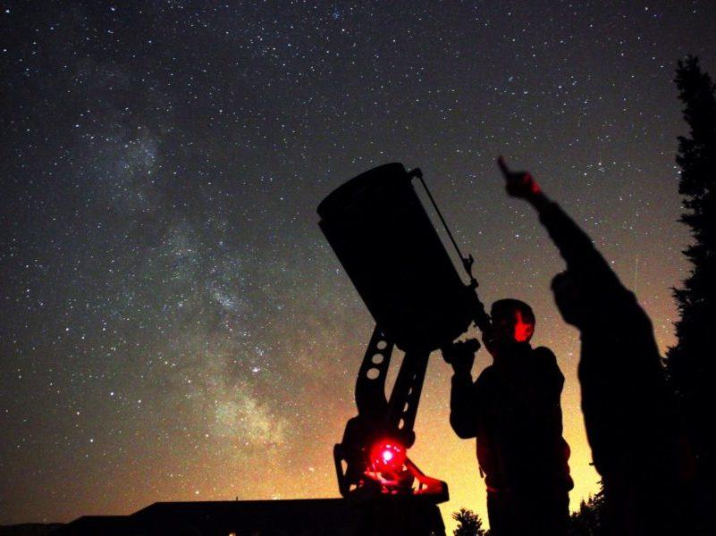 Astronomie aux Blacouas pour les colonie de vacances