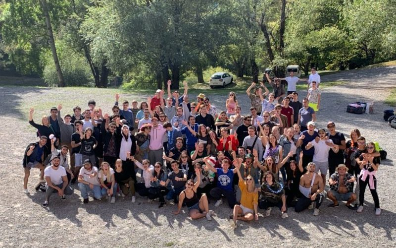 Accueil de groupes d'étudiants au Domaine les Blacouas