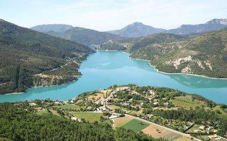 Le lac de Castillon
